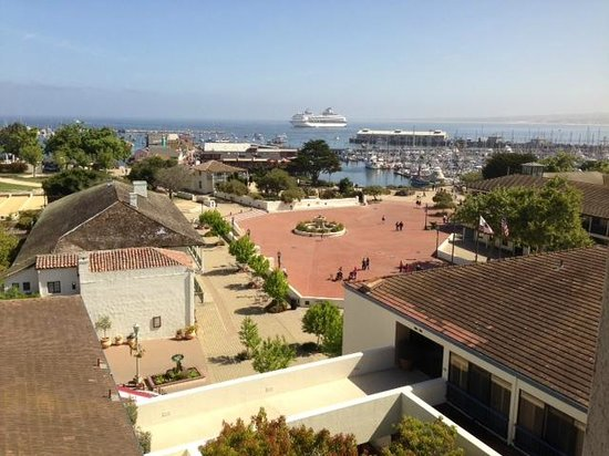 Portola Hotel & Spa at Monterey Bay: View of the harbor from our room