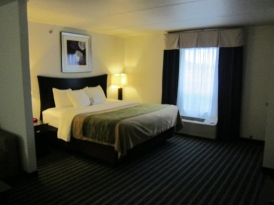 Comfort Inn & Suites: Cozy area near the bed