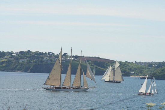 The Rathgowry: Racing boats in the Pendennis Cup - May 14