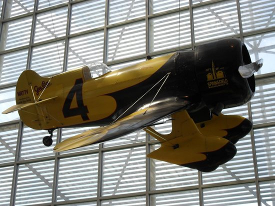 The Museum of Flight : Gee Bee Racer from the 1930's