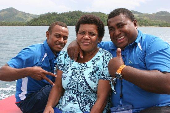 Turtle Island Resort: Staff