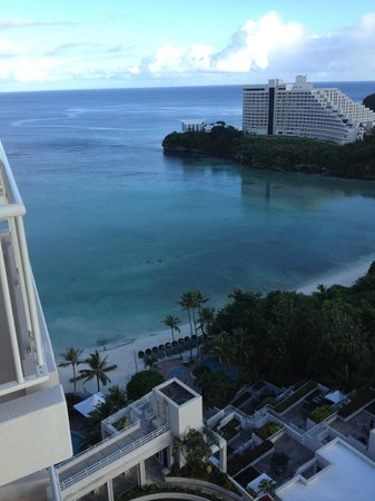 The Westin Resort Guam: View from my room, Room #1716