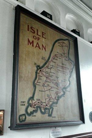Island Map Picture of Isle of Man Bus and Rail Douglas TripAdvisor