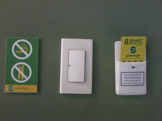 Go Hotels Mandaluyong : GOHotels Cybergate Plaza - Keys