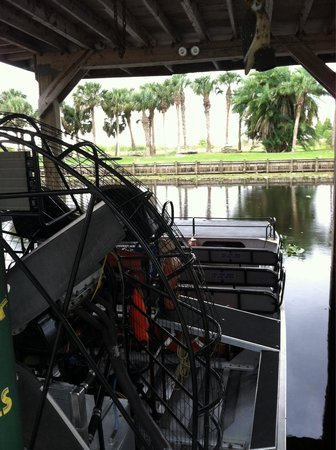 Boggy Creek Airboat Rides: One of several airboats