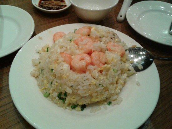Din Tai Fung : 蝦仁蛋炒飯