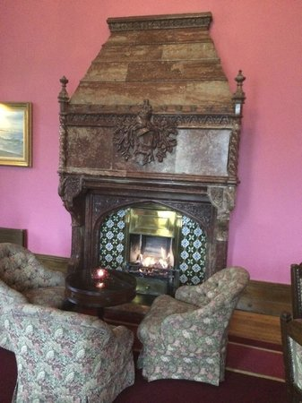 Adare Manor: Another fireplace