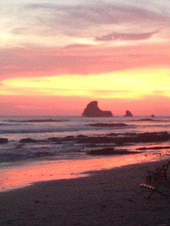 The Maderas Village: Maderas beach at sunset