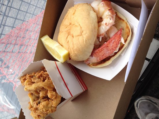 Clam Shack : Fried Clams and Lobster Roll
