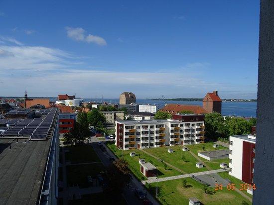 arcona Hotel Baltic : Blick zum Hafen