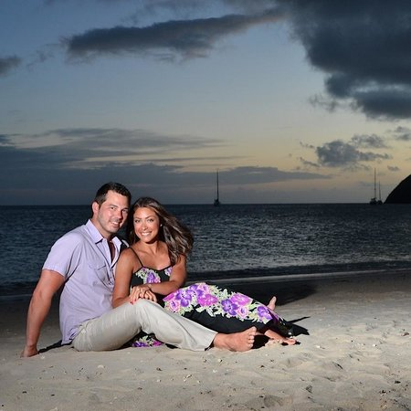 Sandals Grande St. Lucian Spa & Beach Resort: Photoshoot with Jay Dethorne at Sandals