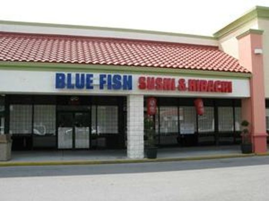 blue fish hibachi steakhouse sushi bar neapol