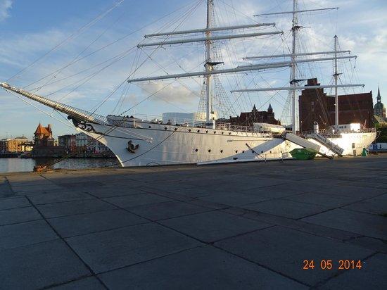 arcona Hotel Baltic : im Hafen