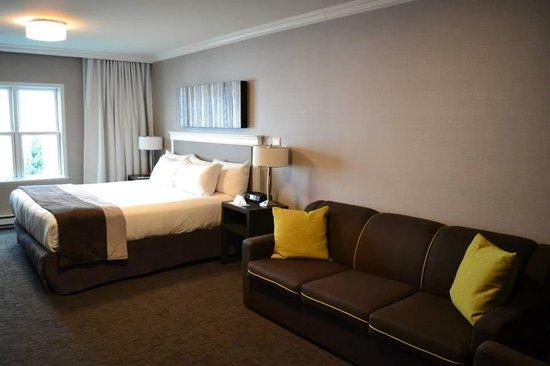 Hotel Manoir Victoria : La chambre