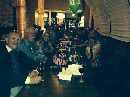 Cloister Restaurant: Birthday Meal @ the Cloister, Ennis