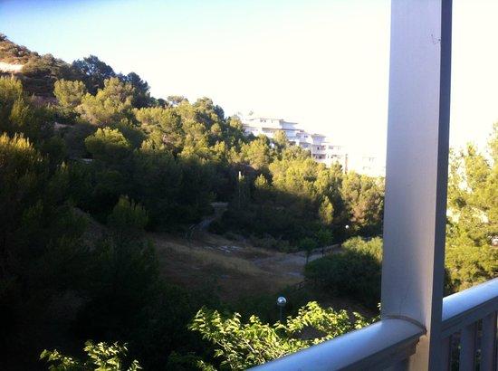 Apartamentos Deya: back of hotel