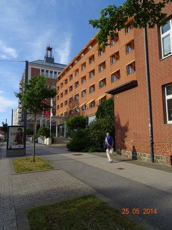 arcona Hotel Baltic: Hotel Vorderfront