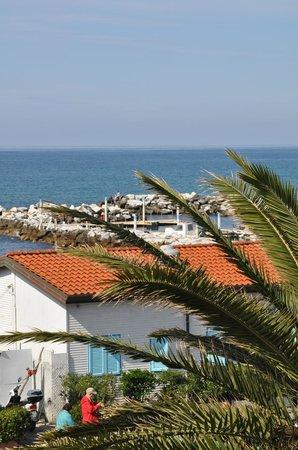 Hotel Italia: Blick Richtung Yachthafen