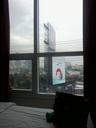Go Hotels Mandaluyong : GOHotels Cybergate Plaza - View from Room
