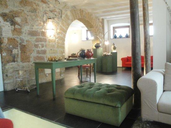 Il Giardino di Ballaro : one of the common areas near the reception