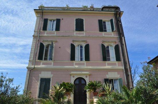 Hotel Italia: Hotel Hinterseite