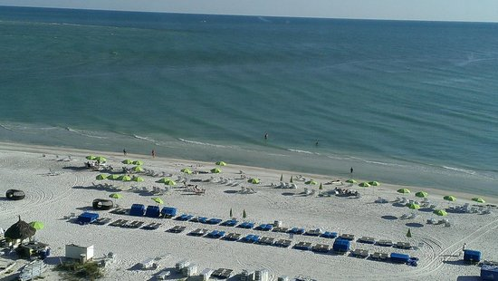 Resort at Longboat Key Club: View from our room on 9th Floor Bld 3