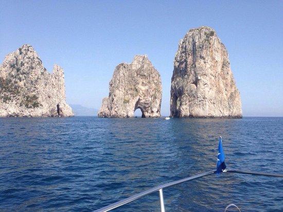 Amalfi Coast to Capri Boat Excursion : Amazing views