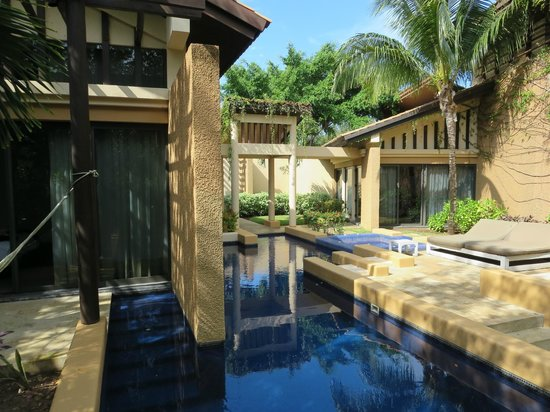 Banyan Tree Mayakoba: A view of a Sanctuary Pool Villa