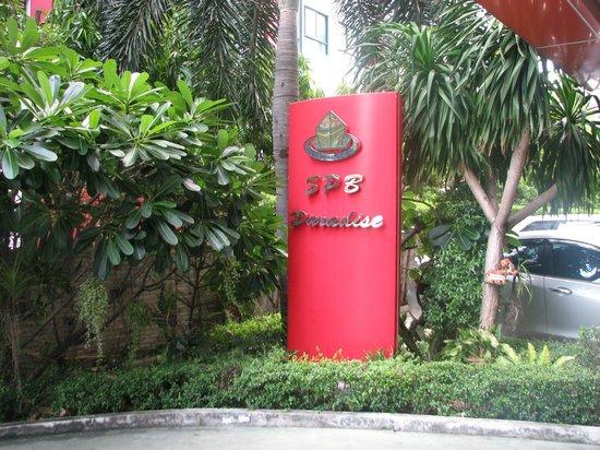 SPB Paradise: Hotel sign