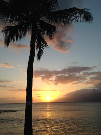 The Mauian Hotel on Napili Beach: Beautiful Sunsets