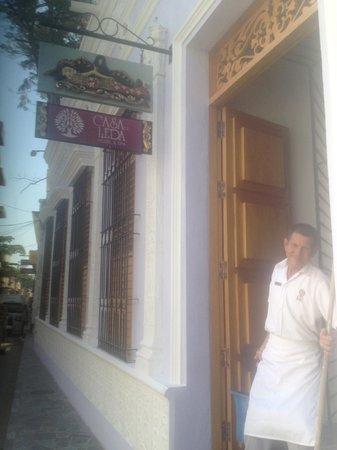 Casa de Leda - a Kali Hotel: Entrada