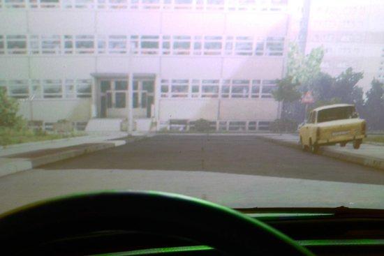 DDR Museum : Trabant Driving Simulator