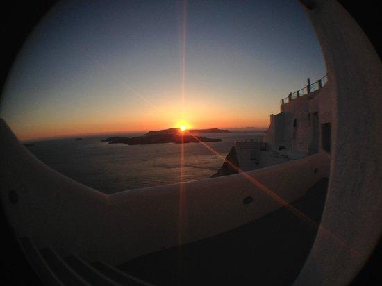 Fantasy Travel: Santorini sunsets