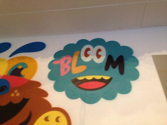 Hotel BLOOM!: Mural in the Lobby
