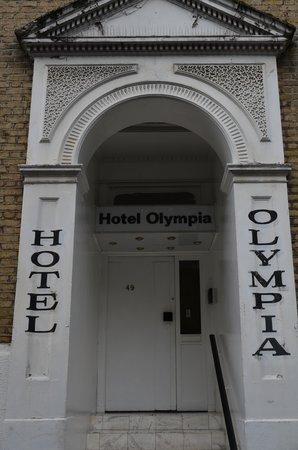 Hotel Olympia: Ingresso