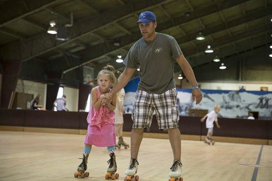 Snow Mountain Ranch: Rollerskating is free for guests. (courtesy of Phil Frigon)