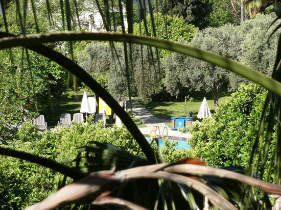 Barut Acanthus & Cennet: View from our 'Garden Room'