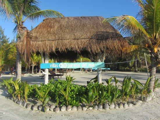 Villas HM Paraiso del Mar: Zufahrt