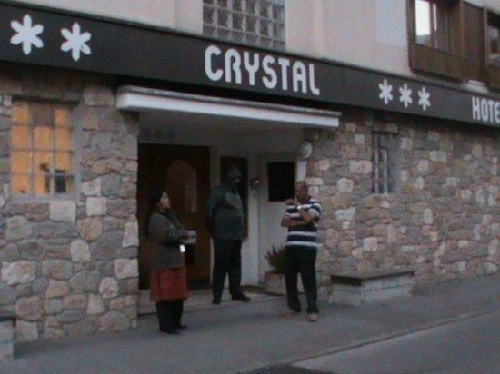 Hotel Crystal: Entrance