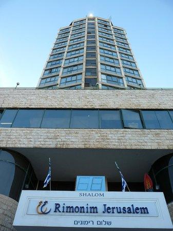 Rimonim Shalom Hotel Jerusalem: entrance