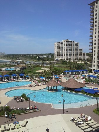 North Beach Plantation: View from 3rd floor balcony  - Indigo Tower
