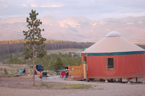 Snow Mountain Ranch : Our yurts sleep up to 6 people.