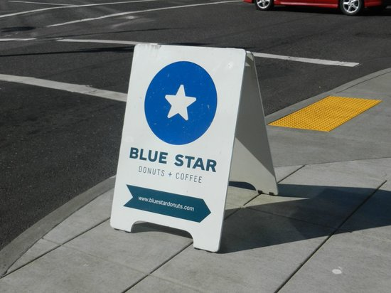 Blue Star Donuts: Low key location, look for the sign out front