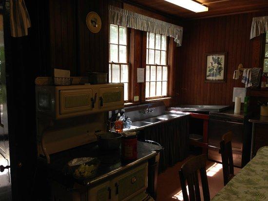 Lacawac Sanctuary: old Kitchen