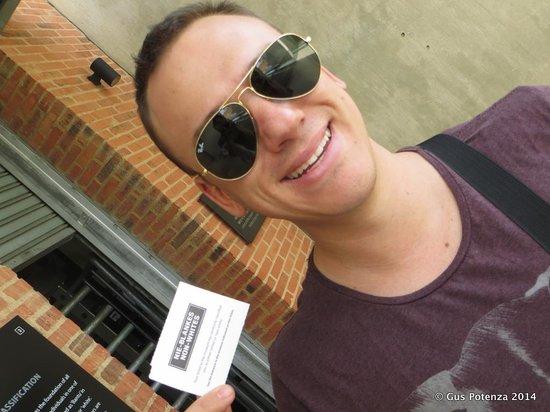 Museo del Apartheid: I've got the NON-WHITE ticket