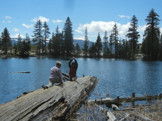 Yosemite Guide Service: Doing Yoga in the wilderness - check