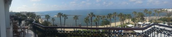The Annabelle: View from our balcony