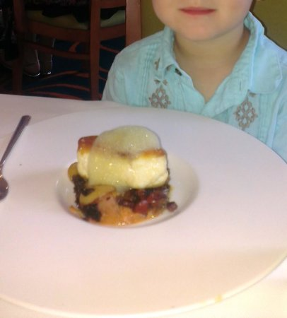 The Maritana Grille at The Don CeSar: a dish from kids menu