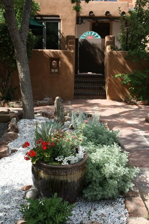 Las Brisas de Santa Fe: Entrance to Private Patio