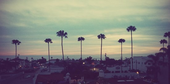 Holiday Inn San Clemente: Our view from our balcony.